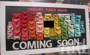 envelope-punch-board