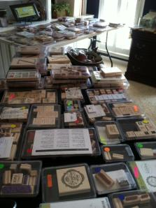 lots of stamp sets