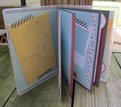scrapbook inside