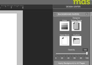 mds custom background