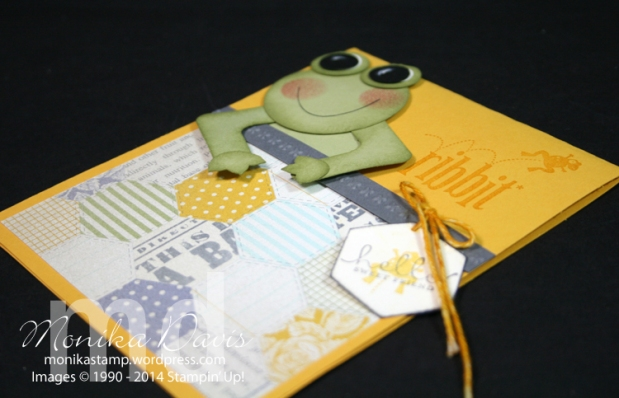 Ribbit says this cute Frog