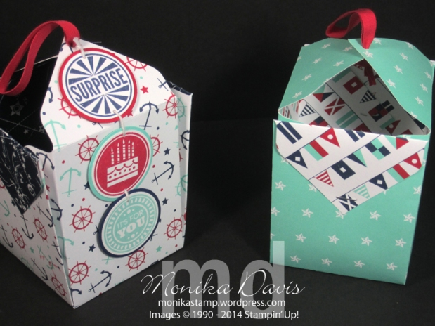 Sea Street Punch Board GiftBoxes