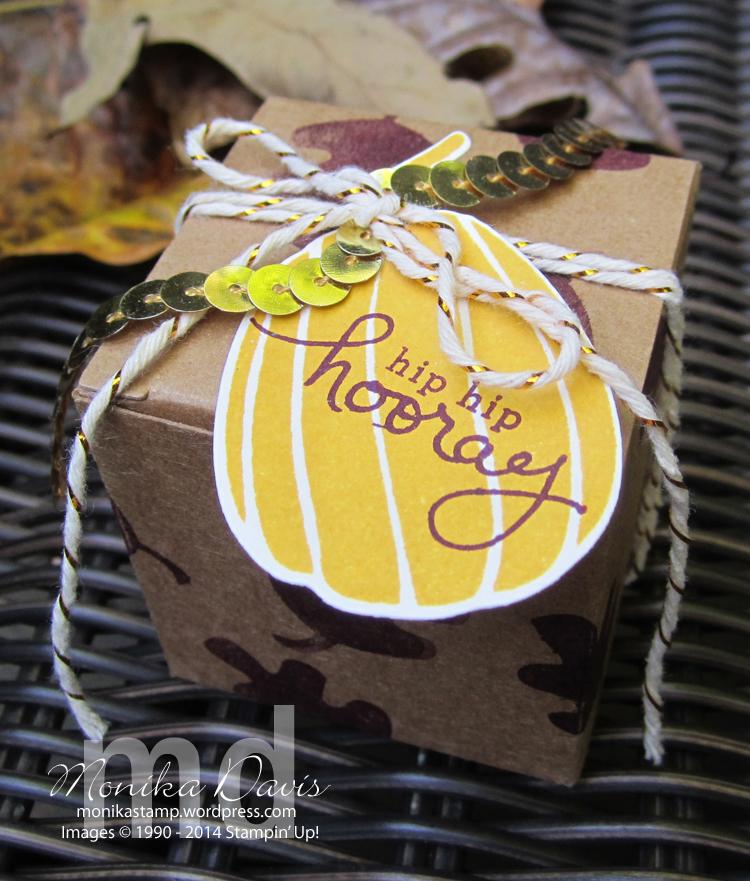 Stamp, Scrap  Create RetreatTiny Treat Box giftStamping