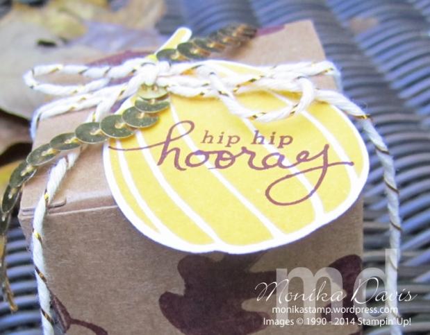 Stamp, Scrap & Create Retreat – Tiny Treat Boxgift