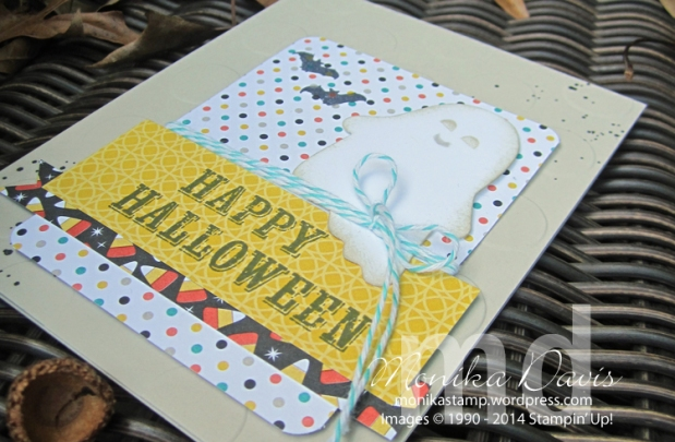 Another Paper Pumpkin Idea for the September BooKit