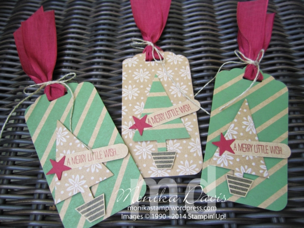 Under the Tree Gift Box and Tags