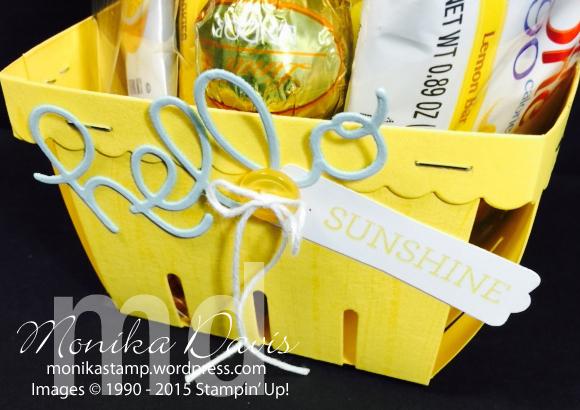 Hello Sunshine Basket