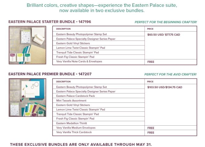 eastern palace bundles