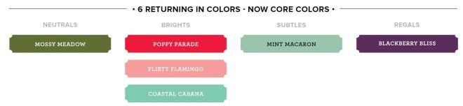 returning colors